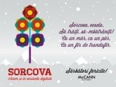 Traditiile nu mor, se transforma! Testeaza Sorcova Digitala McCann!