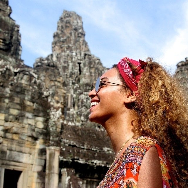 Beyonce in Cambodia