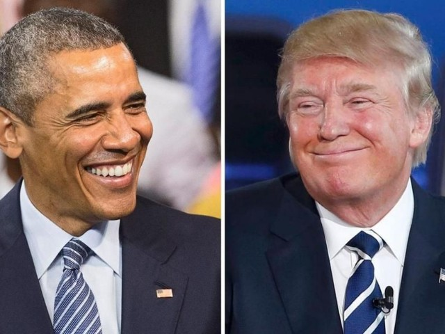 Obama vs Trump. Diferenta dintre un gentleman si un clovn